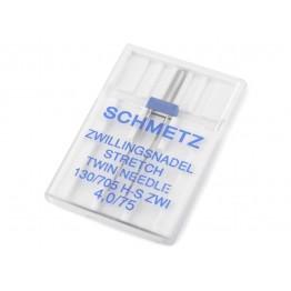 Tweeling Naald Stretch Schmetz 2,5/76