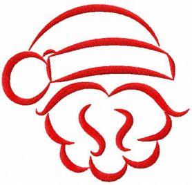 Verwonderlijk Gratis Borduurpatroon Kerstman HA-67